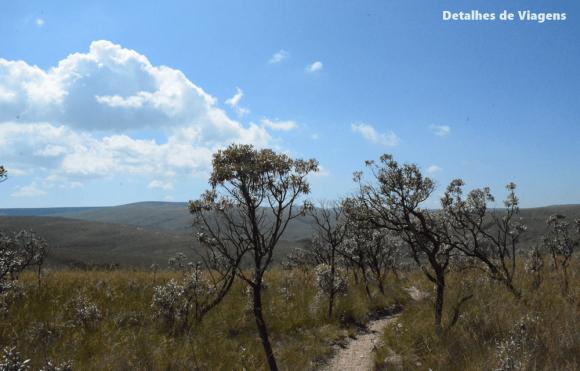 parte alta parque nacional serra da canastra trilha 3