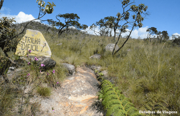 parte alta parque nacional serra da canastra trilha dificil 6