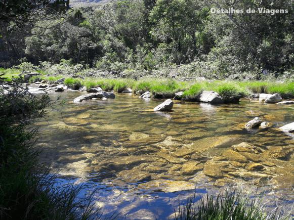 piscinas naturais parque nacional serra da canastra parte baixa
