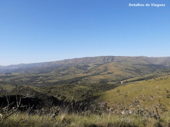 trilha parque nacional serra da canastra vista