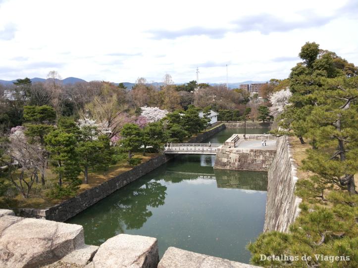 castelo-nijo-fosso-nijojo-castle-kyoto-quioto-japao-relatos-viagem-roteiro