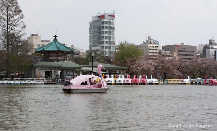 tokyo ueno park lago pedalinho relatos viagem japao roteiro dicas.png