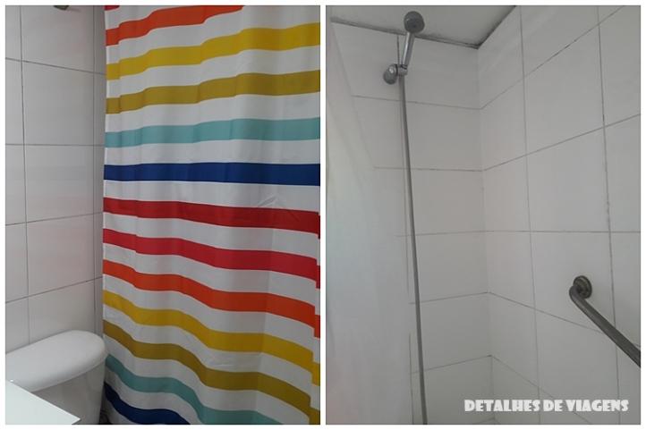 apartamento banheiro santiago chile onde ficar centro bairro lastarria relatos viagem 2