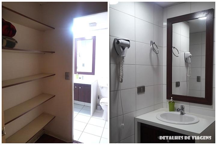 apartamento banheiro santiago chile onde ficar centro bairro lastarria relatos viagem