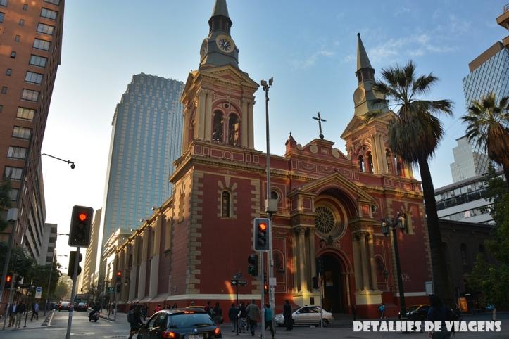 Basílica de la Merced santiago chile centro o que fazer pontos turisticos relatos viagem