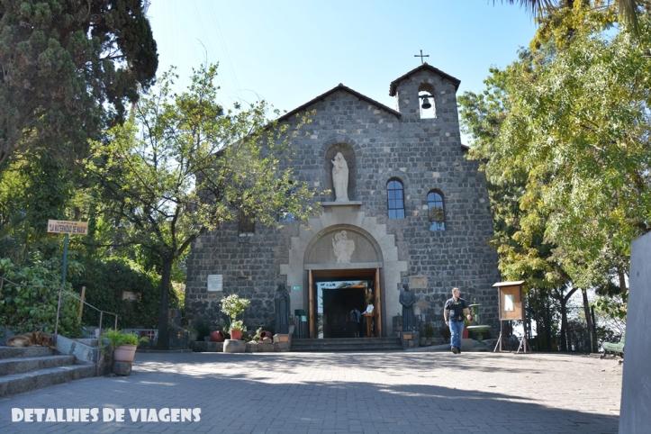 capilla la maternidad de maria Virgen de la Inmaculada Concepción cerro san cristobal santiago chile pontos turisticos o que fazer relatos viagem