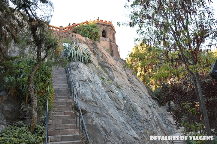 cerro santa lucia santiago centro pontos turisticos bairro lastarria o que fazer santiago relatos viagem 11