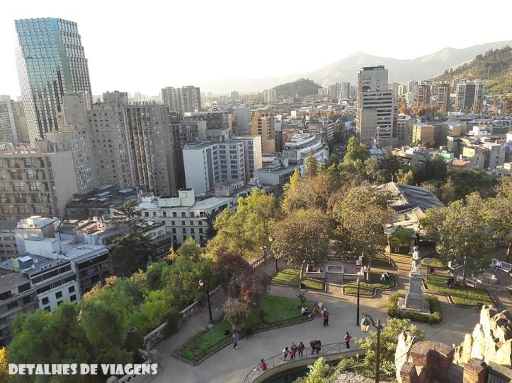 cerro santa lucia santiago centro pontos turisticos bairro lastarria o que fazer santiago relatos viagem 13