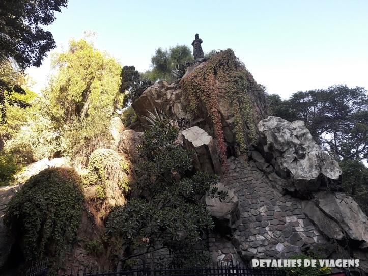 cerro santa lucia santiago centro pontos turisticos bairro lastarria o que fazer santiago relatos viagem 2