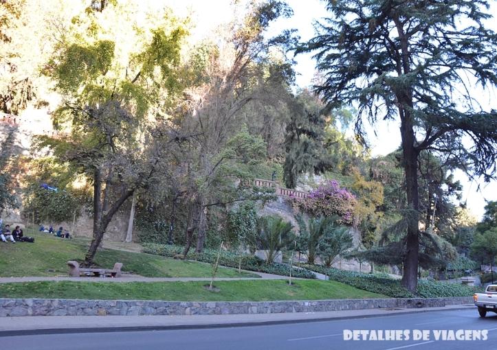 cerro santa lucia santiago centro pontos turisticos bairro lastarria o que fazer santiago relatos viagem