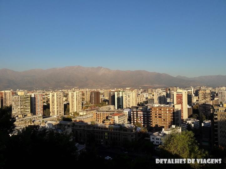 cerro santa lucia vista mirante cordilheira andes santiago centro pontos turisticos bairro lastarria o que fazer santiago relatos viagem