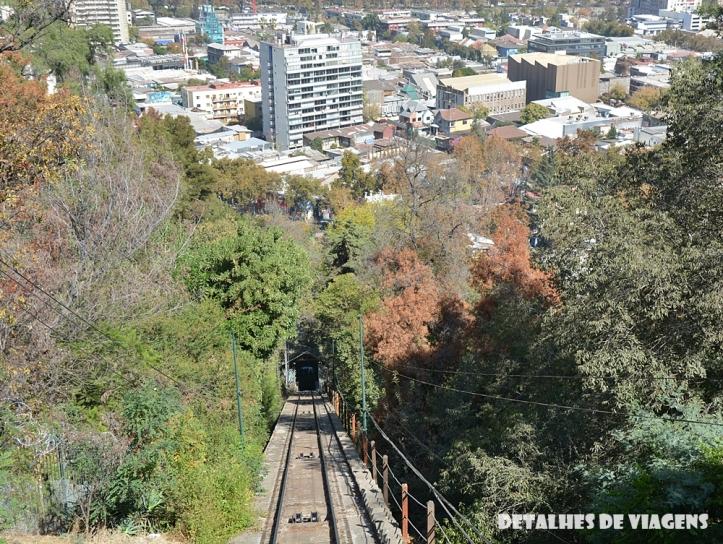 funicular cerro san cristobal santiago chile pontos turisticos o que fazer relatos viagem.JPG