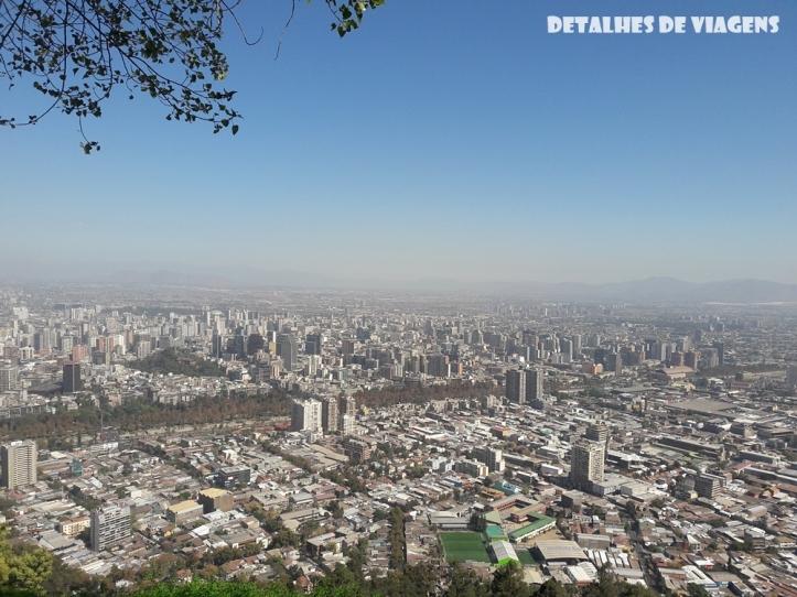 mirante vista cerro san cristobal santiago chile relatos viagem