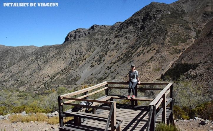 parque cordillera yerba loca mirante trilha trekking caminhada natureza santiago o que fazer relatos viagem