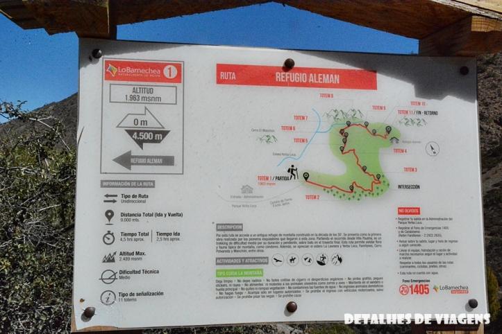 parque cordillera yerba loca trilhas trekking caminhada natureza santiago o que fazer relatos viagem