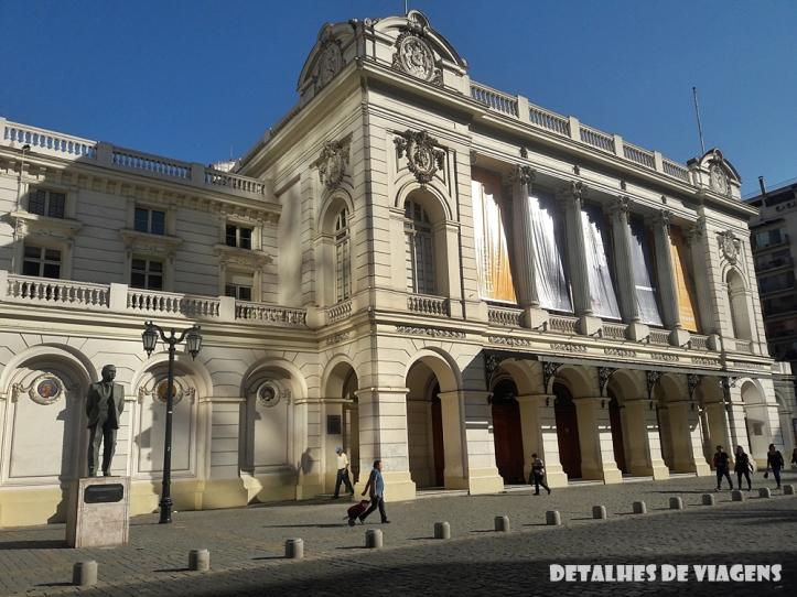 teatro municipal de santiago chile relatos viagem