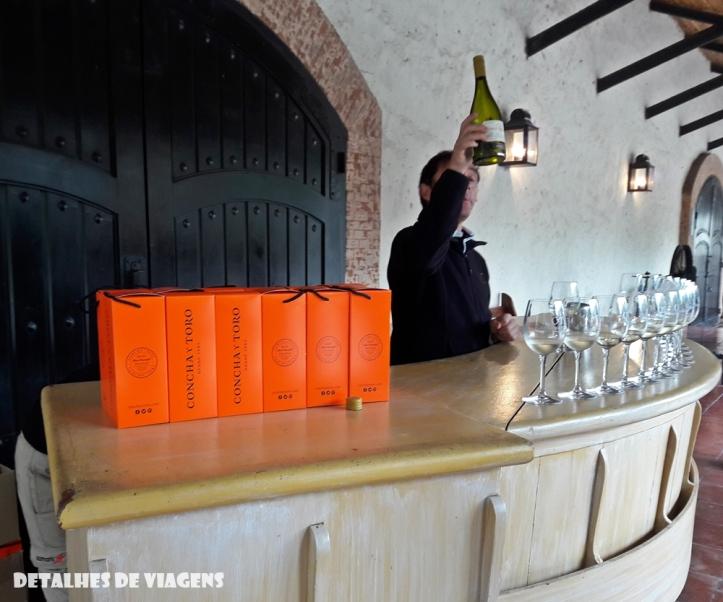vinicola concha y toro degustacao vinho tour tradicional enoturismo relatos viagem santiago chile