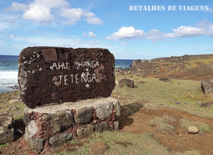ahu hanga tetenga ilha de pascoa sitios arqueologicos atracoes pontos turisticos roteiro rapa nui