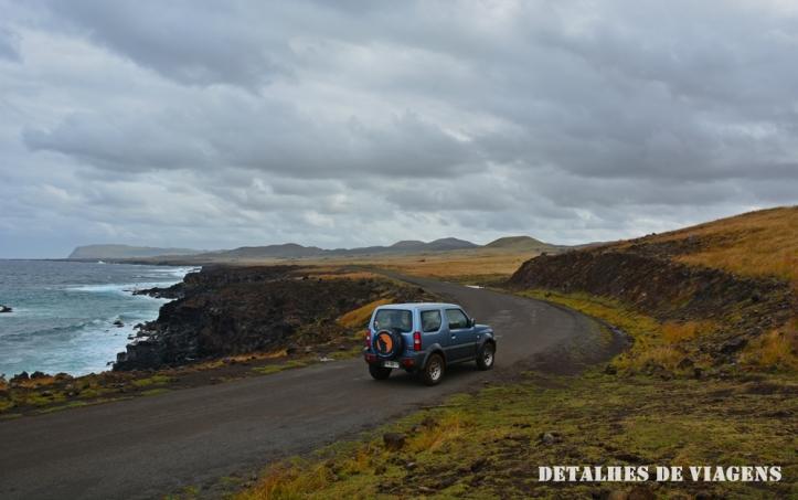 alugar carro ilha de pascoa rapa nui isla de pascua como se locomover relatos viagem