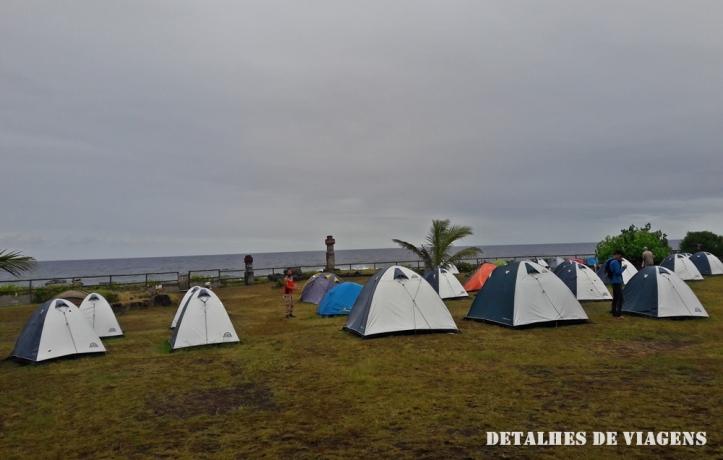camping mihinoa ilha de pascoa onde ficar hanga roa relatos viagem