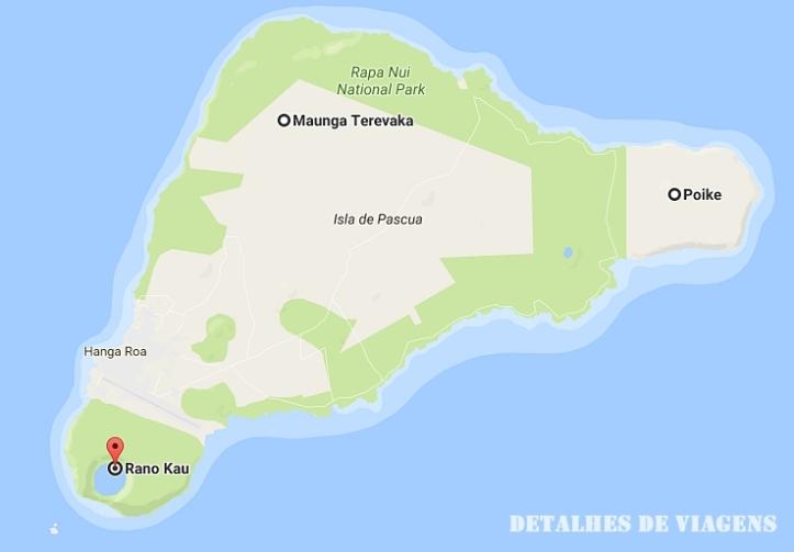 mapa vulcoes ilha de pascoa