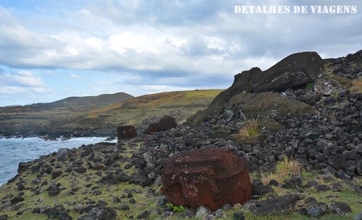 moai ahu akahanga ilha de pascoa sitios arqueologicos roteiro atraçoes pontos turisticos 3