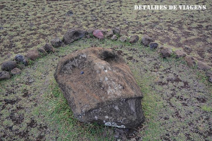 moai destruido ahu akahanga ilha de pascoa sitios arqueologicos roteiro atraçoes pontos turisticos .JPG