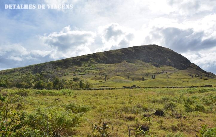 moai vulcao rano raraku ilha de pascoa rapa nui