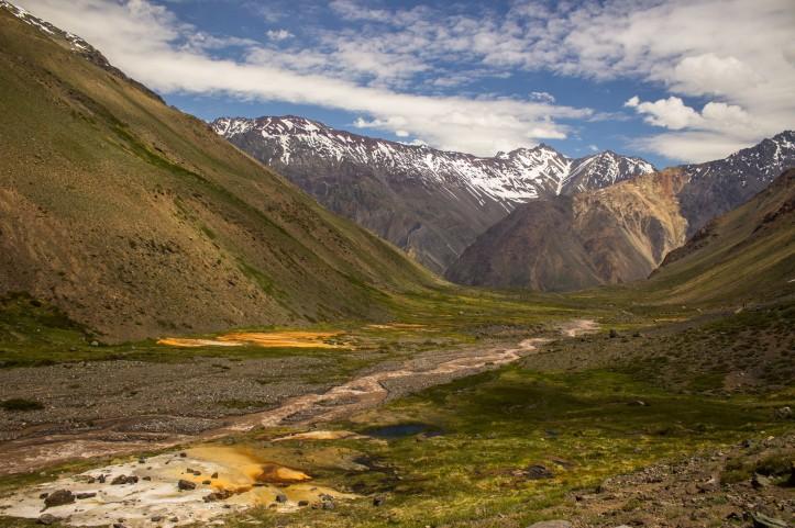monumento nacional el morado trekking trilhas chile santiago