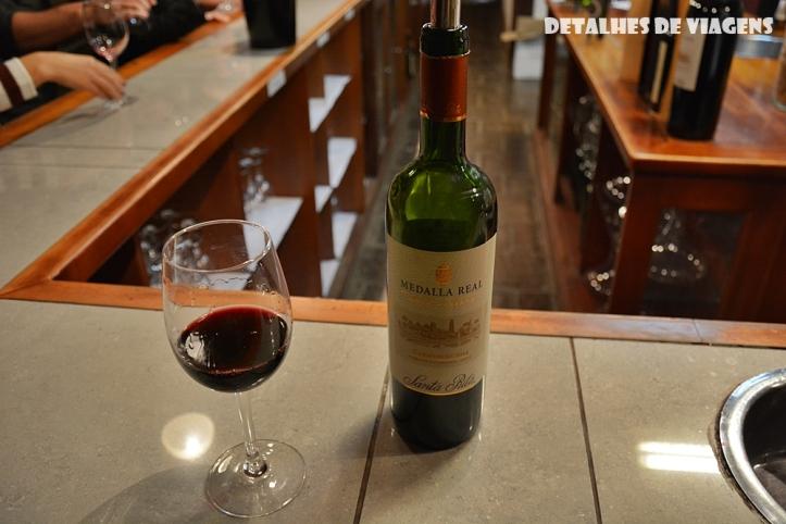 vinicola santa rita chile degustacao vinho