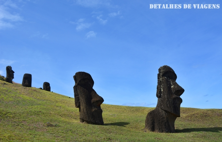 moai rano raraku ilha de pascoa